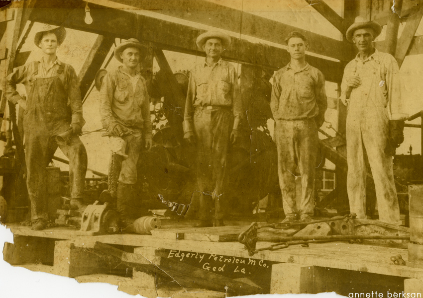 Before - July 5, 1926, photo of Vincent Crew #10, Ged, LA.